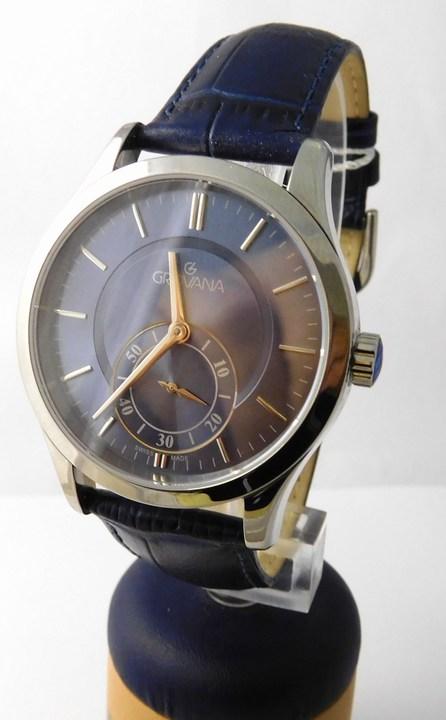 Pánské švýcarské luxusní hodinky Grovana 1202.1535 se safírovým sklem (1202.1535)