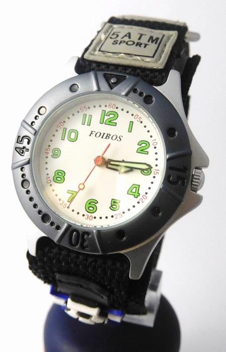 Chlapecké sportovní dětské hodinky Foibos 2589.1 pro malé fotbalisty - 5ATM