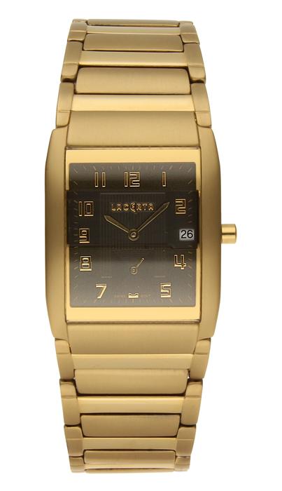 Luxusní pánské švýcarské titanové hodinky Lacerta 109 C8 553 se safírovým sklem