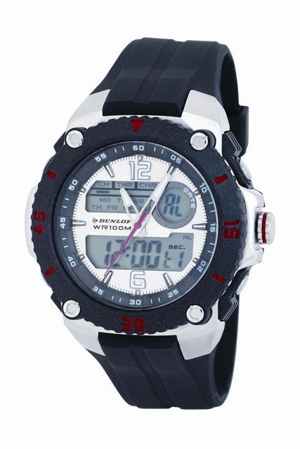 Vodotěsné sportovní digitální hodinky DUNLOP Dun-160-G01