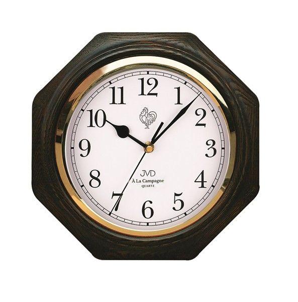 Dřevěné nástěnné hodiny JVD N71.2 - ODESÍLÁME ZDARMA!