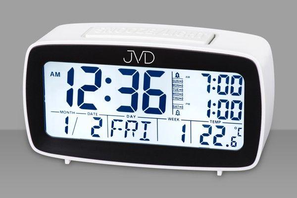 Digitální budík JVD SB82.4 (vícefunkční digitální budík)
