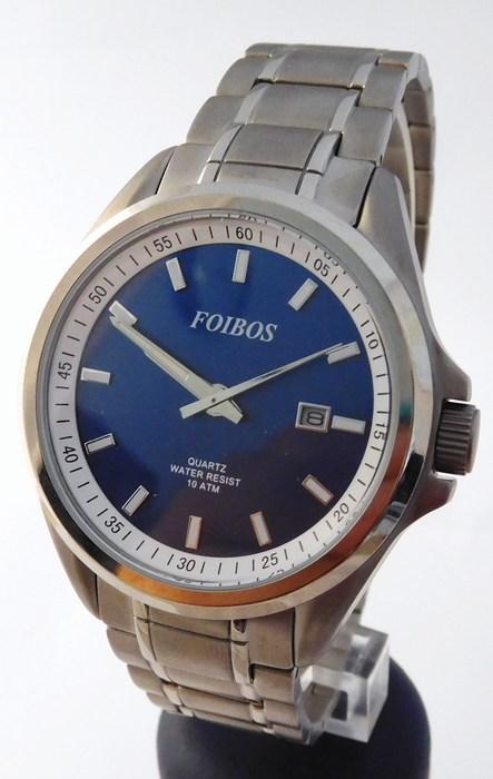 Pánské celotitanové antialergické vodotěsné hodinky Foibos 25503 0cf5224ec2