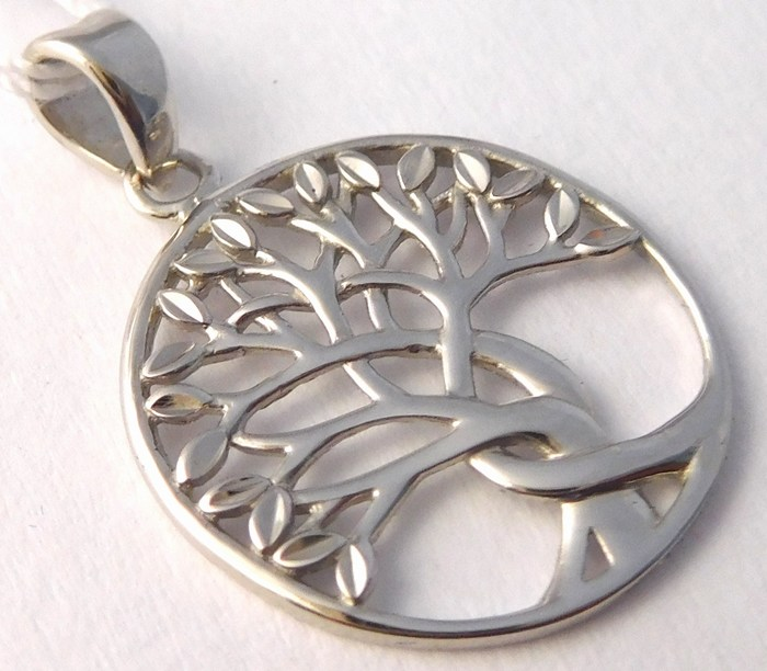 Zlatý přívěsek v bílém zlatě - strom života 585/1,18gr H742 POŠTOVNÉ ZDARMA!! (POŠTOVNÉ ZDARMA!!)