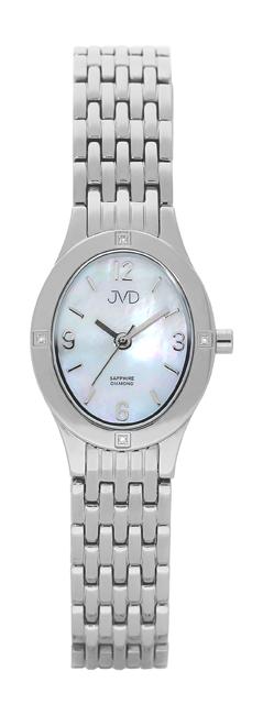 Dámské švýcarské hodinky JVD s pravými diamanty J4019.4