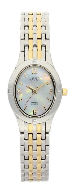 Dámské švýcarské hodinky JVD s pravými diamanty J4019.5