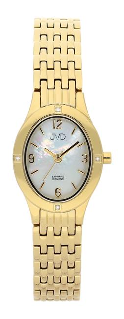 Dámské švýcarské hodinky JVD s pravými diamanty J4019.6