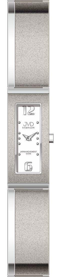 Dámské luxusní titanové antialergické hodinky J5020.1 (POŠTOVNÉ ZDARMA!!)