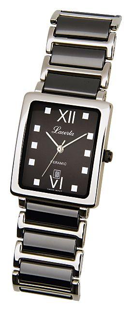 e68cf66da54 Dámské nerezové náramkové hodinky LACERTA 775485K2 (keramika)