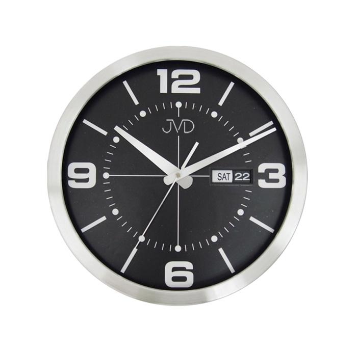 Kovové stylové hodiny JVD HO255.1 s datumovkou