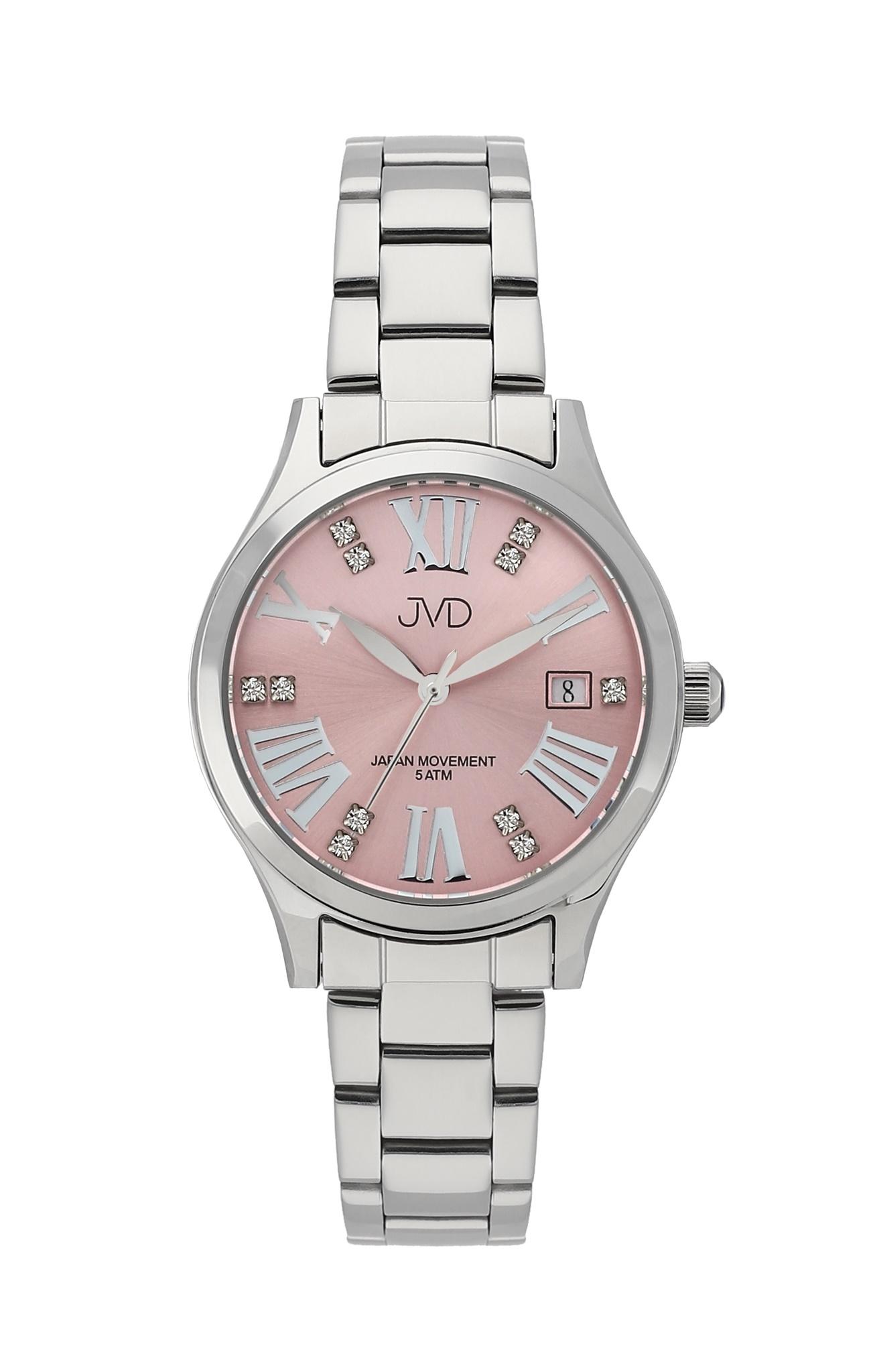 Dámské luxusní ocelové náramkové hodinky JVD J4158.2  d04fc6683f6