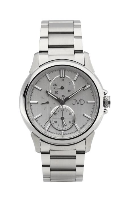 Pánské mohutné ocelové vodotěsné hodinky JVD seaplane JC664.1 - 10ATM (POŠTOVNÉ ZDARMA!!)