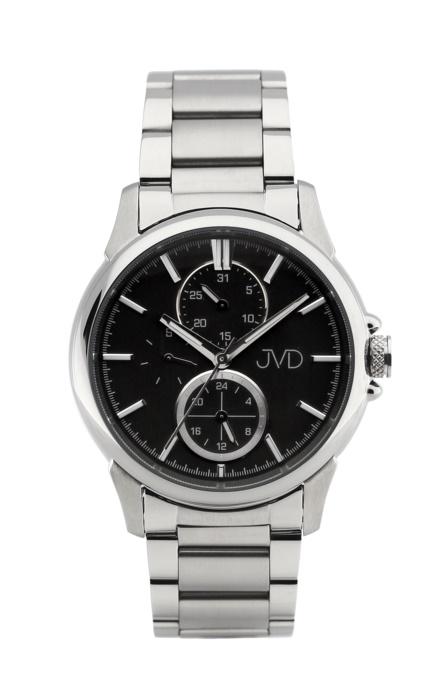 Pánské mohutné ocelové vodotěsné hodinky JVD seaplane JC664.3 - 10ATM (POŠTOVNÉ ZDARMA!!)