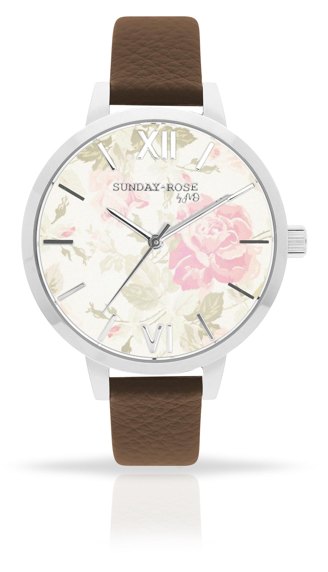 Dámské luxusní designové hodinky SUNDAY ROSE Alive VINTAGE FLOWERS (POŠTOVNÉ ZDARMA!!)