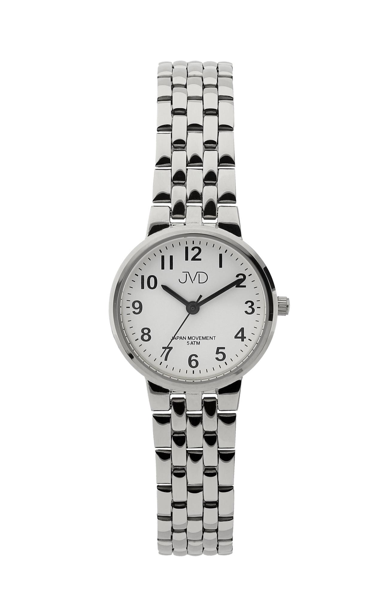 Dámské ocelové čitelné hodinky JVD J4157.1 (POŠTOVNÉ ZDARMA!!!)