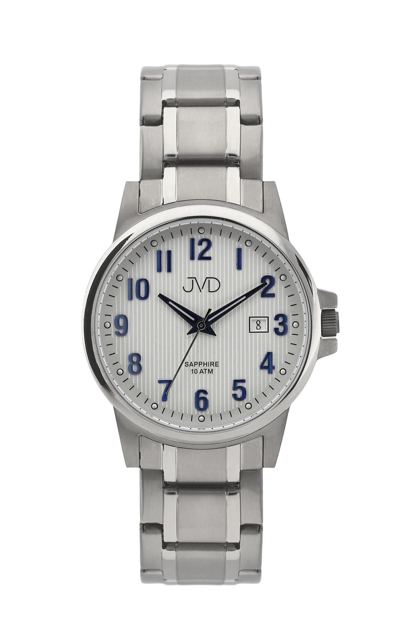 Pánské titanové antialergické vodotěsné hodinky JVD J2021.1 se safírovým sklem (POŠTOVNÉ ZDARMA!!!)