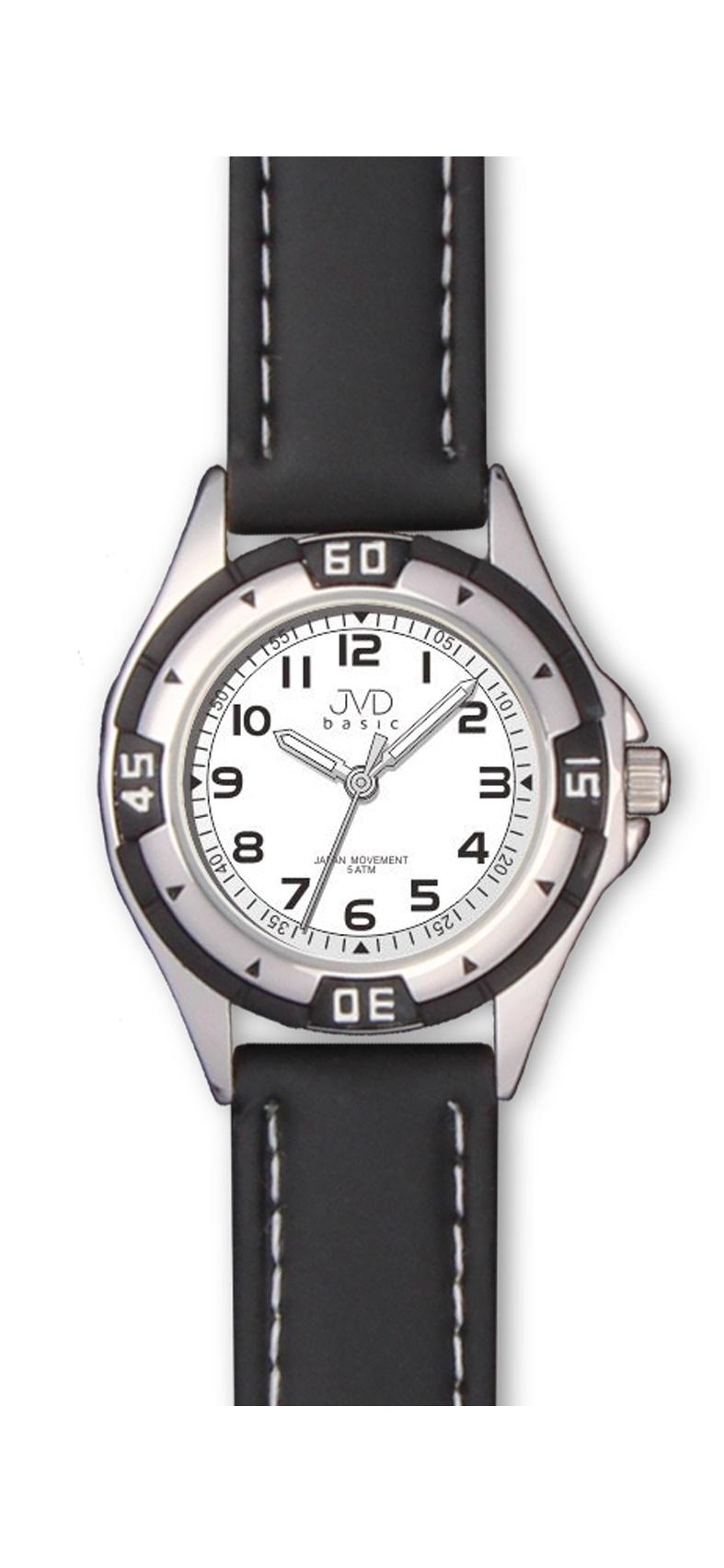 Chlapecké dětské voděodolné sportovní hodinky JVD J7099.2 - 5ATM (chlapecké hodinky)