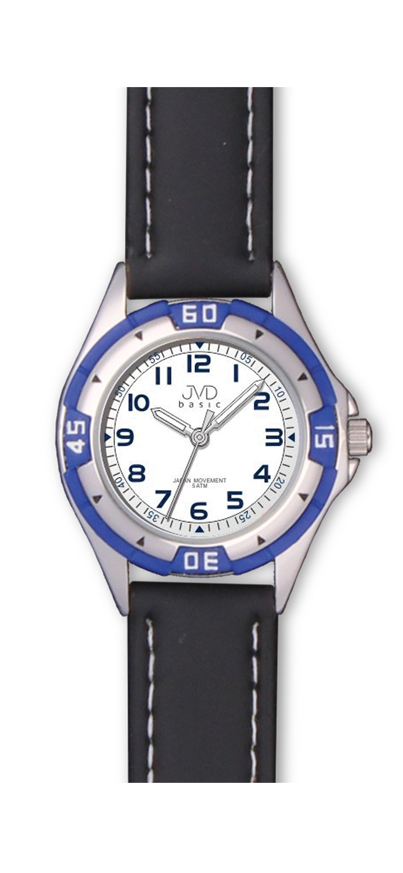 Chlapecké dětské voděodolné sportovní hodinky JVD J7099.3 - 5ATM (chlapecké hodinky)
