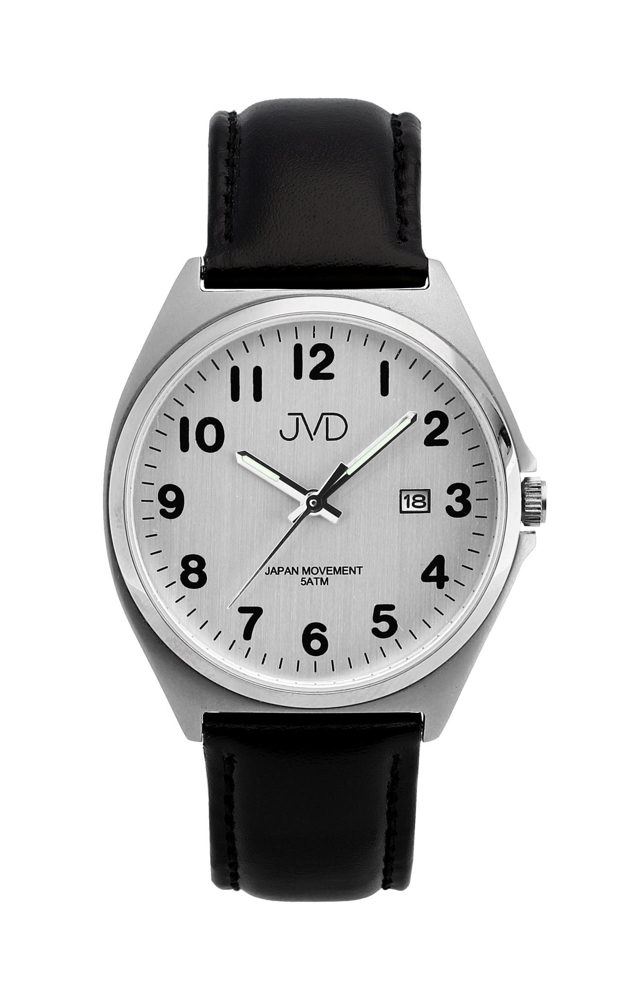 Pánské ocelové čitelné náramkové hodinky JVD J1115.5 - 5ATM ... 045b5ba8378