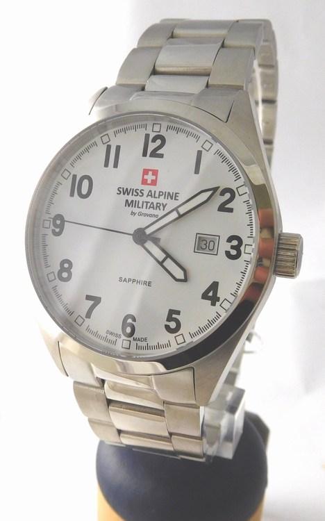 Pánské luxusní švýcarské hodinky Grovana 1293.1137 Swiss Alpine Military (1293.1137 Swiss Alpine Military - POŠTOVNÉ ZDARMA)