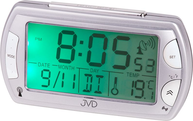 Rádiem řízený luxusní digitální budík JVD RB358.9