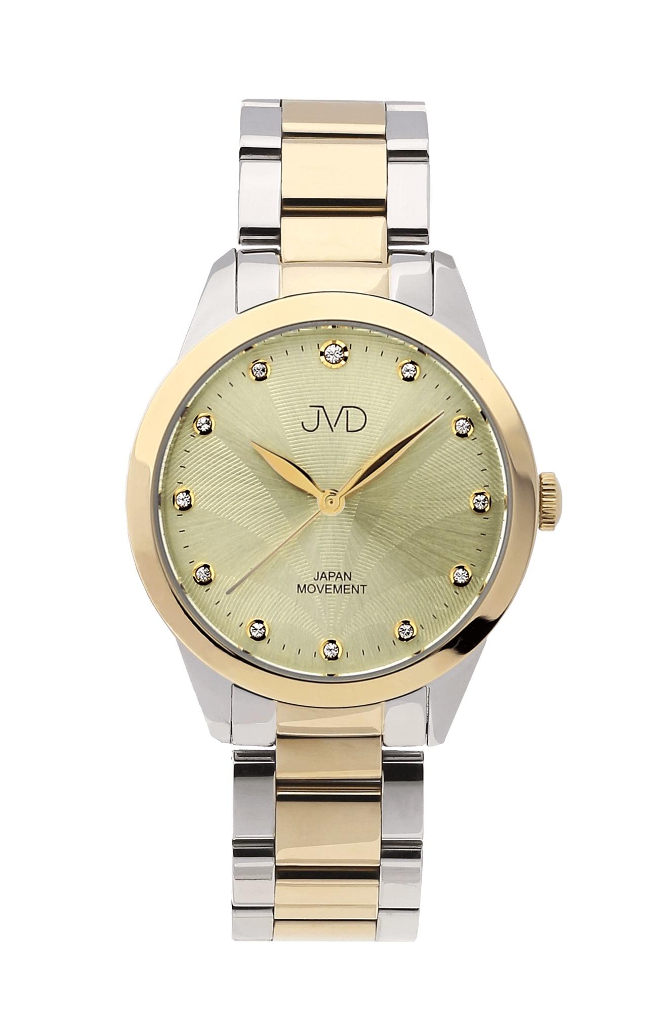 Dámské luxusní designové ocelové náramkové hodinky JVD JC052.3 ... 8441efa6eb