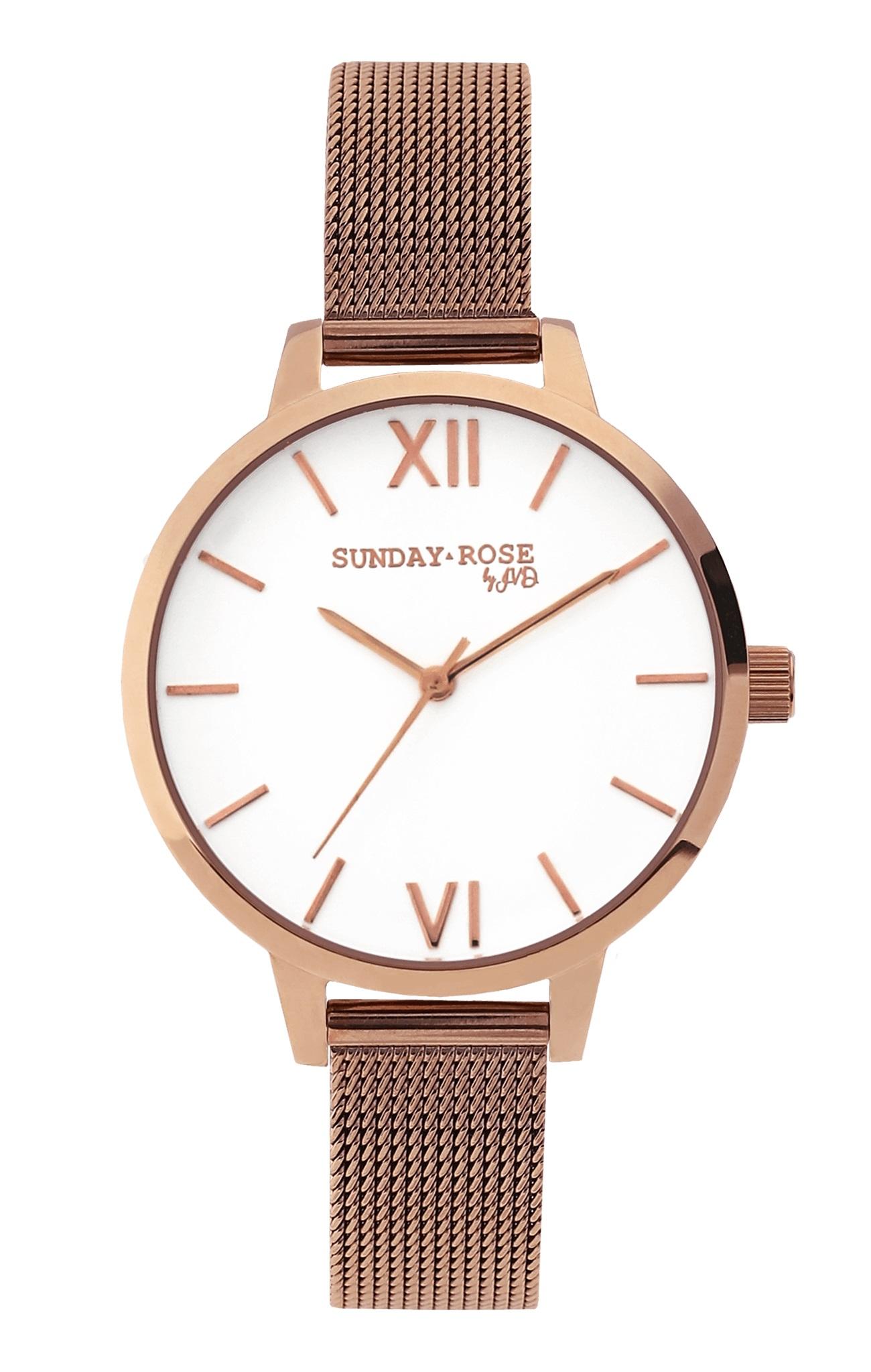 Dámské luxusní designové hodinky SUNDAY ROSE Fashion PINK ELEGANCE ... f57bfed7b9