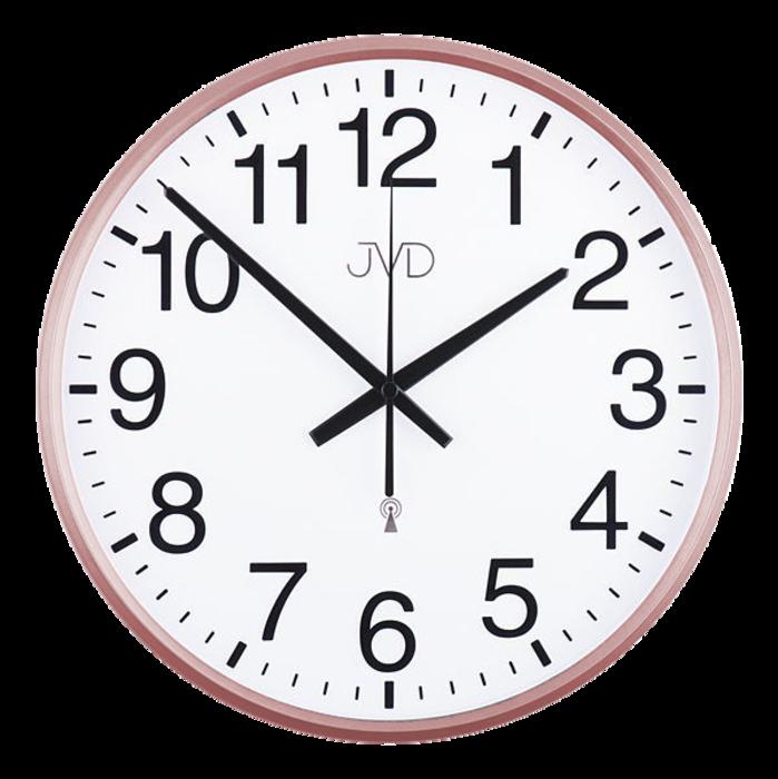 Rádiem řízené nástěnné hodiny JVD RH684.5 - řízené signálem DCF77