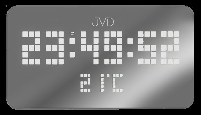Hranaté digitální designové svítící LED hodiny SB2178.1 s LED číslicemi