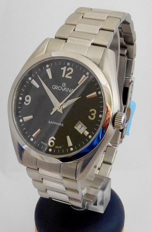 Luxusní pánské voděodolné švýcarské hodinky Grovana 1566.1137 (1566.1137 )
