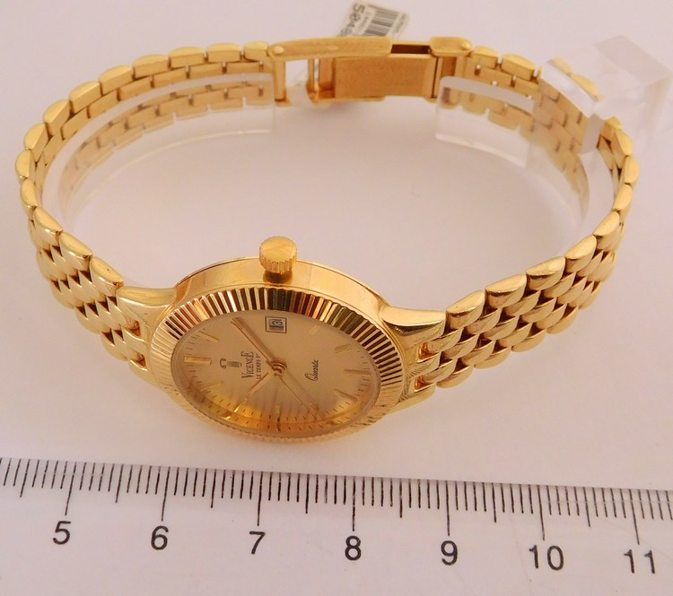 a582140ea Kompletní specifikace · Ke stažení · Související zboží · Komentáře (0). Švýcarské  celozlaté dámské zlaté hodinky VICENCE LE TEMS DE 585/40 ...