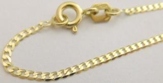 9928bcd7b Zlatý pevný náramek ze žlutého zlata (PANCER) 19cm 585/0,85gr 2840154