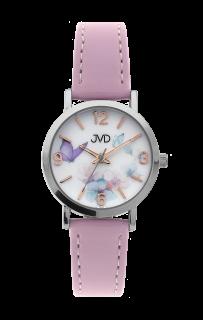 Dětské dívčí přehledné náramkové hodinky JVD J7184.6 9884dced6a