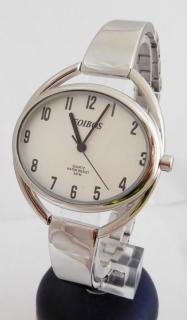 Stříbrné čitelné ocelové šperkové dámské hodinky Foibos 2829 d2e7bcd16fa