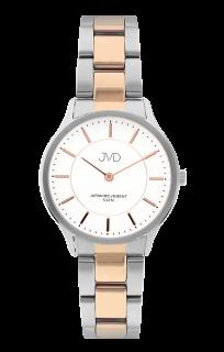 Dámské ocelové voděodolné náramkové hodinky JVD J4168.2 61a9f47cc2