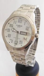 Pánské vodotěsné ocelové přehledné hodinky Foibos sport 7054.1 (safírové  sklo) 03af16920e