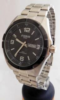 Pánské vodotěsné odolné ocelové přehledné hodinky Foibos sport 6980.1 10ATM ab19c95c953