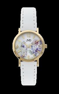 1c2285ccba0 Dětské dívčí přehledné náramkové hodinky JVD J7184.12