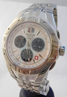 Pánské švýcarské hodinky GROVANA 1610.9133 SWISS ALPINA BY MILITARY f982dbec52