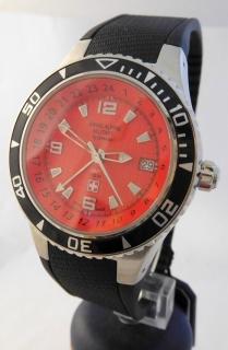 Luxusní pánské vodotěsné hodinky Swiss Alpine Millitary Grovana 1606.1836  SAM 13298f6366