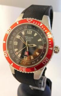Luxusní pánské vodotěsné hodinky Swiss Alpine Millitary Grovana 1606.1834  SAM 79c12138e15