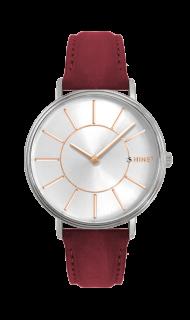 f721338deab Vínovo-růžové dámské hodinky MINET BROADWAY BORDEAUX PINK MWL5038