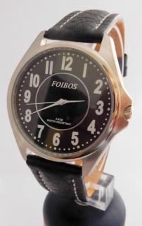 e59c2685a7d Čitelné ocelové pánské značkové voděodolné hodinky Foibos 3883.7 - 5ATM