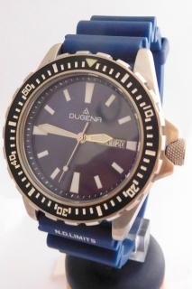Mohutné pánské vodotěsné (potápěčské) hodinky DUGENA 4348346 20ATM ddc1055e56c