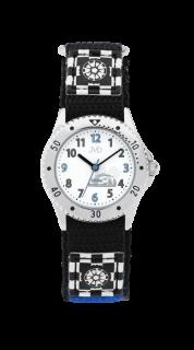 49946167222 Chlapecké dětské sportovní hodinky JVD basic J7126.4 se závodním autem