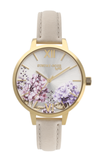 Dámské luxusní designové hodinky SUNDAY ROSE Spirit BLOOM SUN-S08 e71815c796