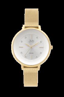 Dámské náramkové ocelové hodinky JVD JG1007.3 se safírovým sklem 258bb2579c4