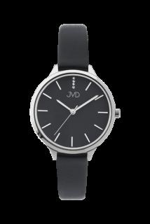Dámské módní designové hodinky JVD JZ201.1 s řemínkem z pravé kůže 9a4b082e3a