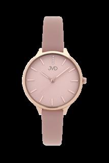 Dámské módní designové hodinky JVD JZ201.2 s řemínkem z pravé kůže ddbaccb9bd