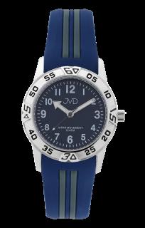 c28e798d45c Modré sportovní odolné dětské chlapecké vodotěsné hodinky JVD J7187.2 -  10ATM
